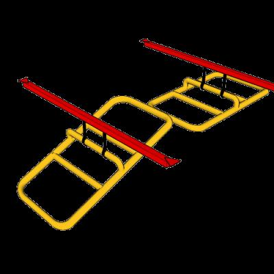 NW-OTL-0610@Tilting_ladder_Katana_Frame@9.333x1.667x6.000