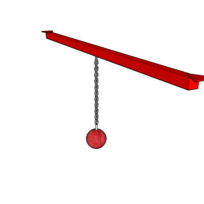 Single Cannon Ball Obstacle