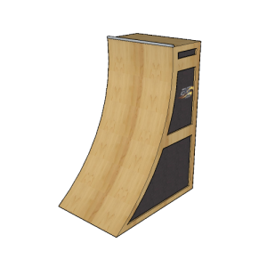 8' Basic Warped Wall