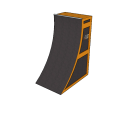 8' Premium Warped Wall