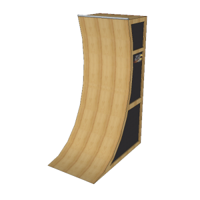 10' Basic Warped Wall