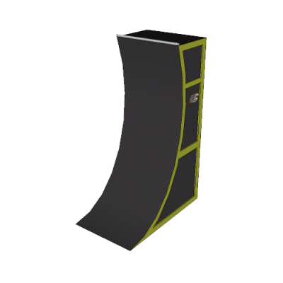 10' Premium Warped Wall