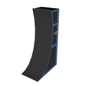 12' Premium Warped Wall