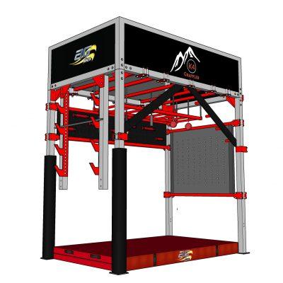 The K4 Grappler - AG Ninja Multi Sport Obstacle Climbing Trainer
