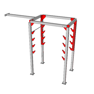 NW-OSL-DBL6-0610@Double_Salmon_ladder_with_Katana_Frame@12.667x10.333x4.667