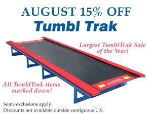August 15% Off TumblTrak Sale