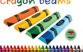 Crayon Balance Beams - Holiday Gift Idea