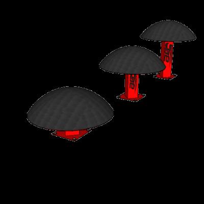 Ninja_Dome_Steps