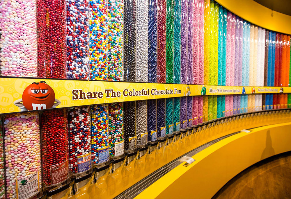 M&Ms world in NYC