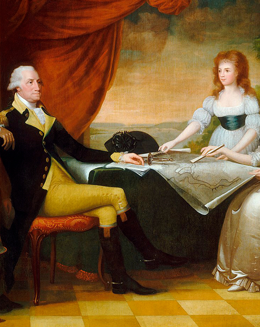 1758-washington-family