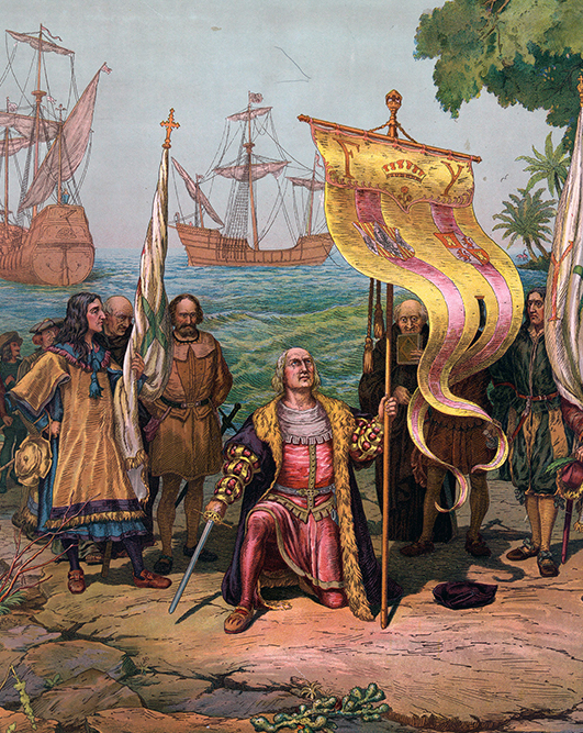 1502CE-colombus-ships-painting