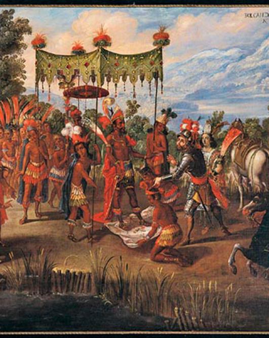 1528-Cortez-montezuma-painting2