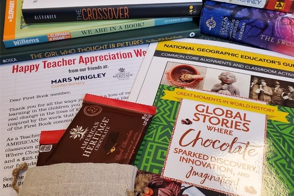 MARS and First Book team up to bring you Teacher Appreciation Week 2019