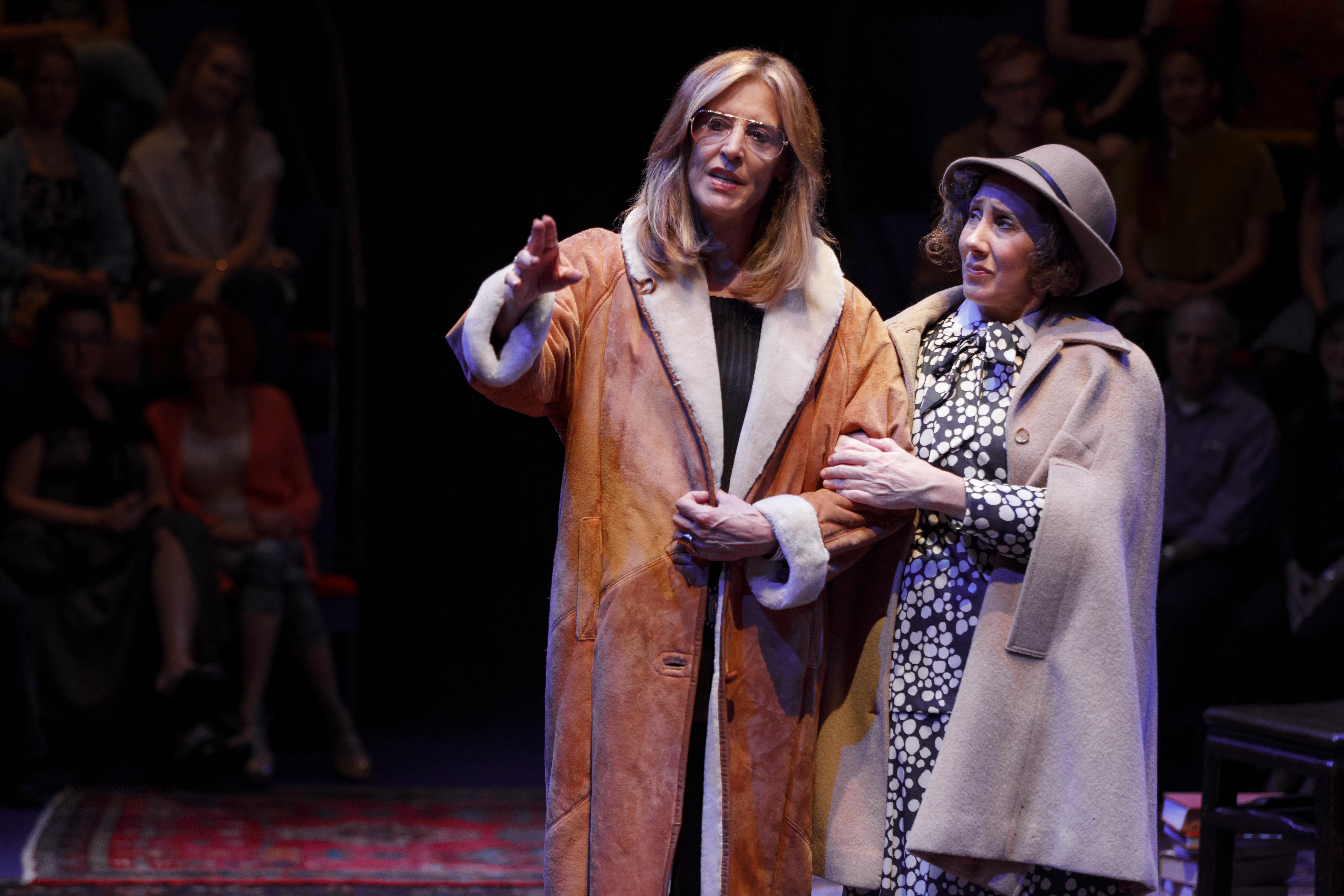 Christine Lahti and Joanna Glushak in Gloria: A Life.