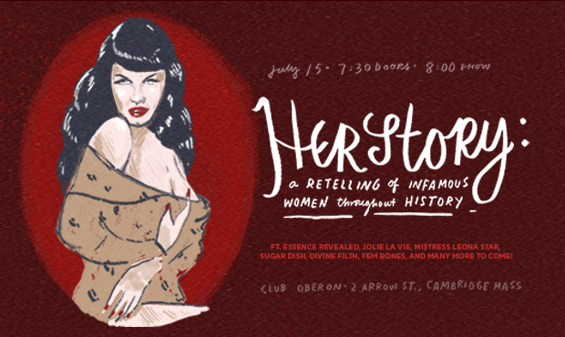 Herstory: A Burlesque Showcase of History's Greatest Femmes