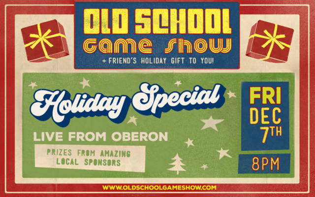 Old School Game Show Holiday Special
