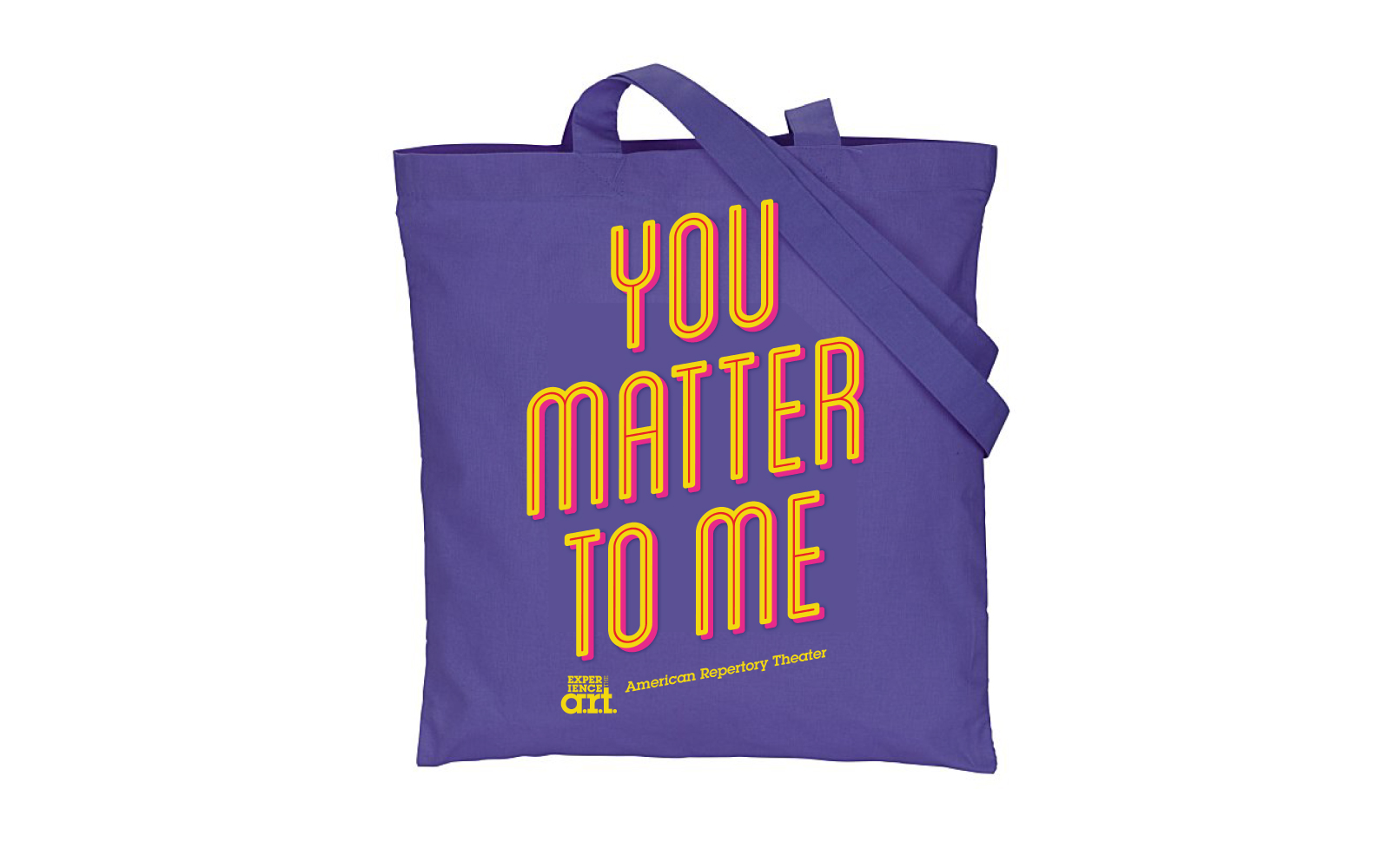 """You Matter to Me"" Waitress Tote"