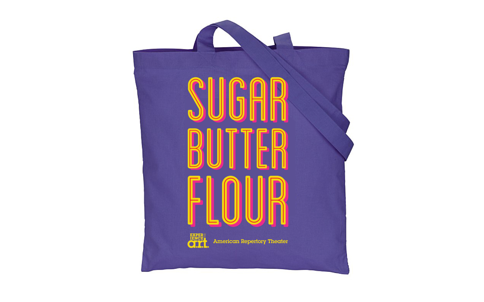 """Sugar Butter Flour"" Waitress Tote"