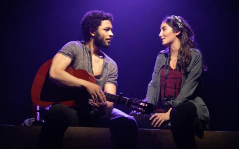 Jakeim Hart and Parisa Shahmir in We Live in Cairo.