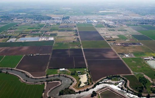 Levees along the San Joaquin River | Sarah Craig