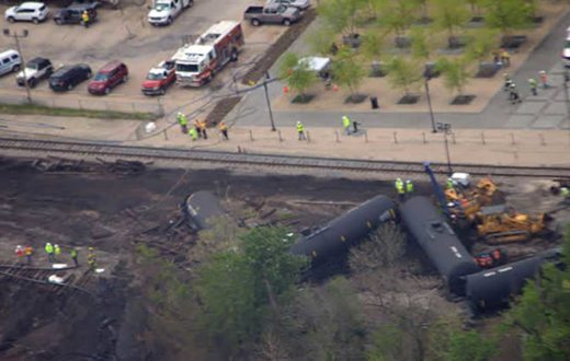 Lynchburg train derailment | James River Association