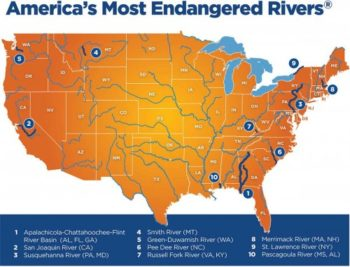 Is Your River The Most Endangered Let Us Know American Rivers - America's rivers map