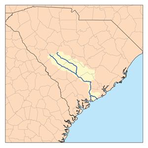 The Edisto River watershed | Wikimedia