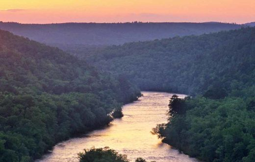 Southeast American Rivers - River maps of southeast us
