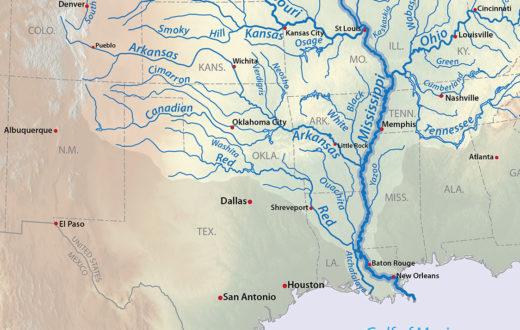 Mississippi River drainage basin | Wikimedia Commons