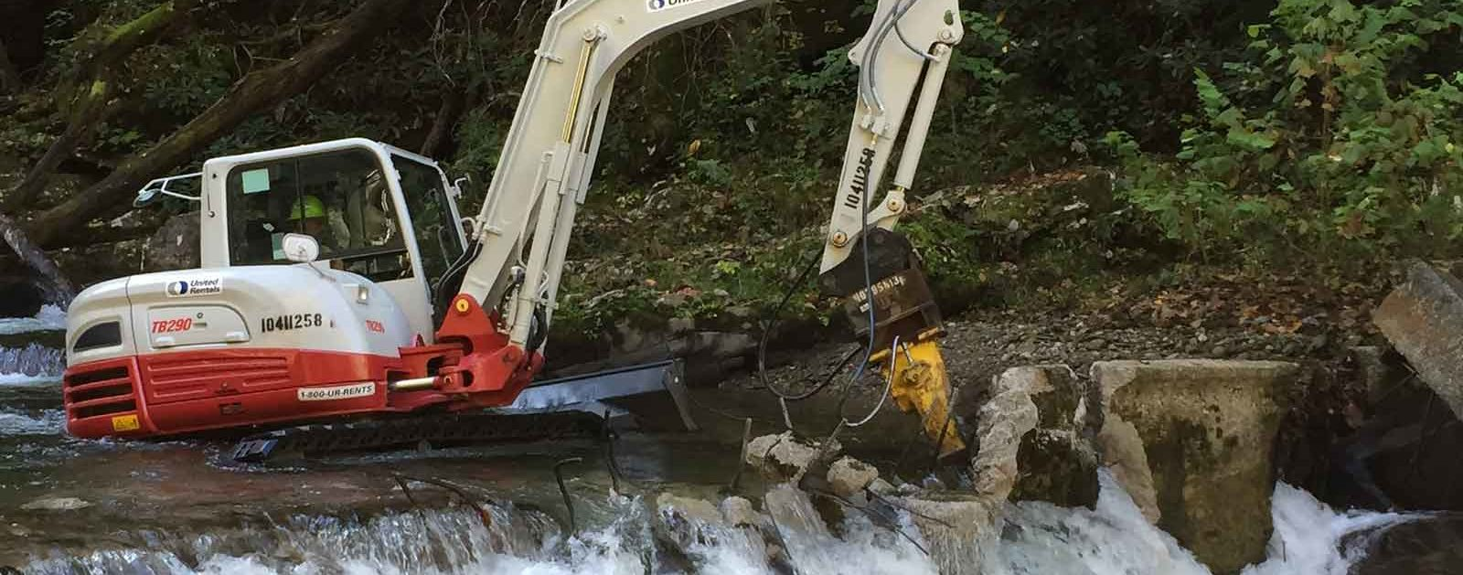 Citico Creek dam removal | Gerrit Jobsis
