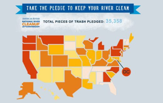 Take the Pledge to Clean Your Rivers