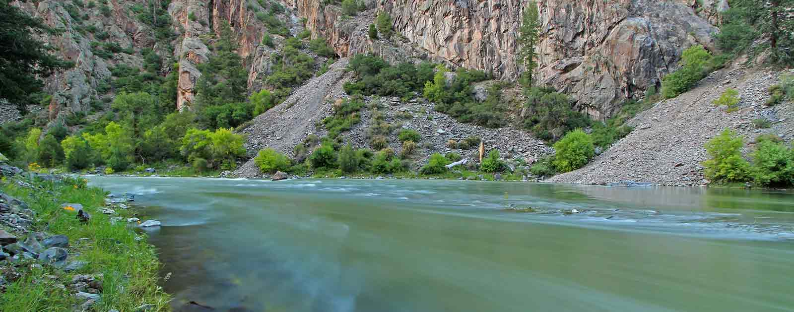 Southwest american rivers for Gunnison river fishing