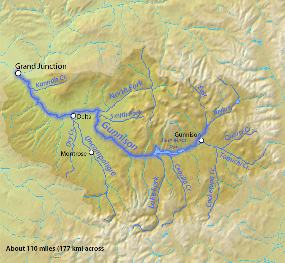 map of colorado mountains with Gunnison River on Rocky Mountains Wallpapers further Gunnison River moreover Spotlight Joshua Tree National Park as well Lariat Loop furthermore Edgar Mine.
