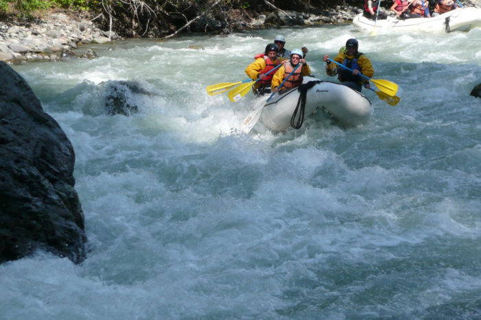Rafting the Nooksack River | American Rivers
