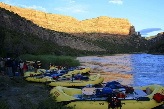 Paddling Trip on the Yampa