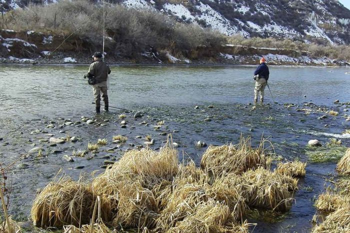 Fishing along Gunnison River | USFWS