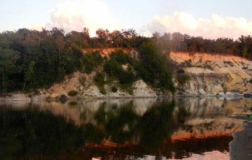 Alum Bluff along the Apalachicola River   George Ackerman