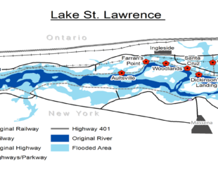 St. Lawrence Map|Daniel Macfarlane