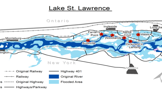 St. Lawrence Map|Daniel Macfarlane