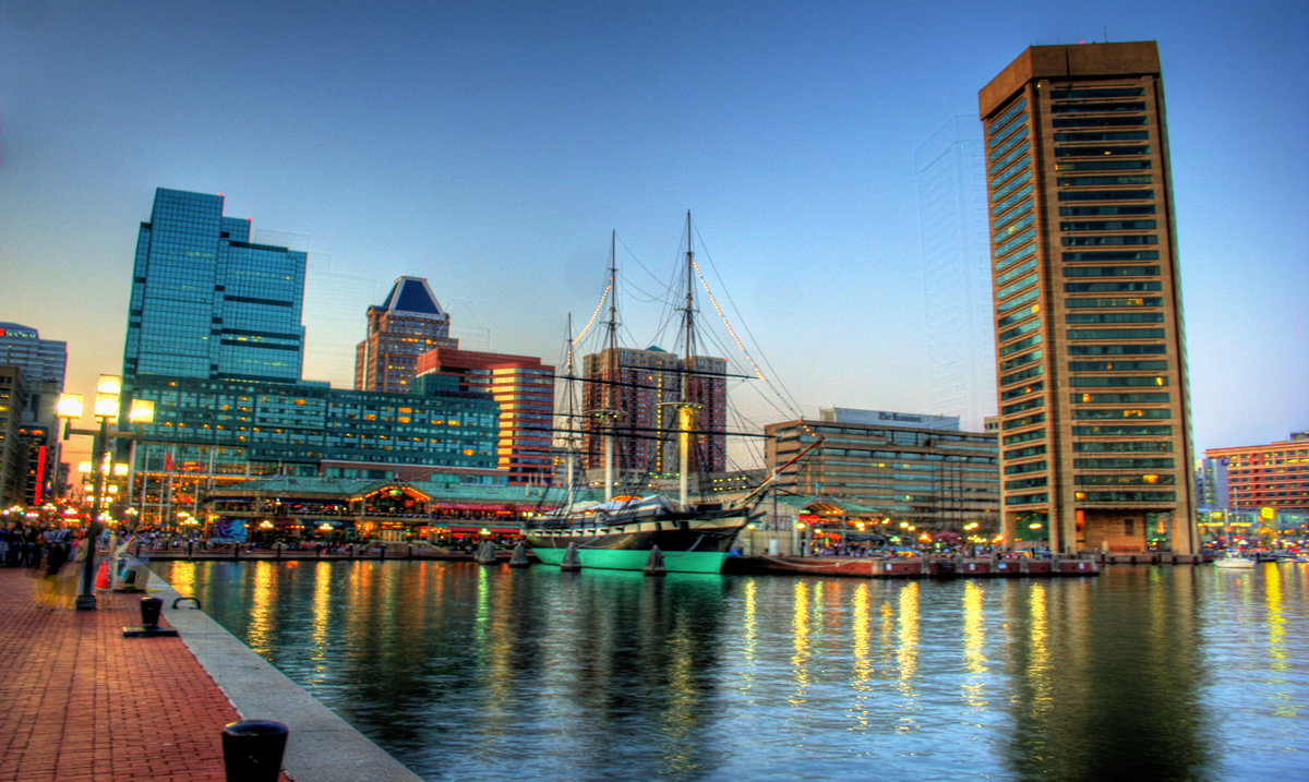 The Baltimore Inner Harbor is the end of the Northwest Branch of the Patapsco River   Kevin Labianco