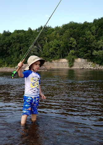 Fishing on the Merrimack| Keith Curley