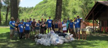 Yampa River Cleanup   Kent Vertrees