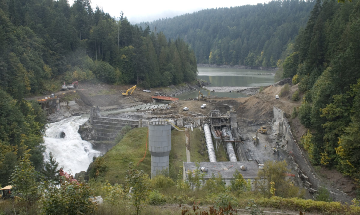 Elwha Dam demolition | Tom Okeefe