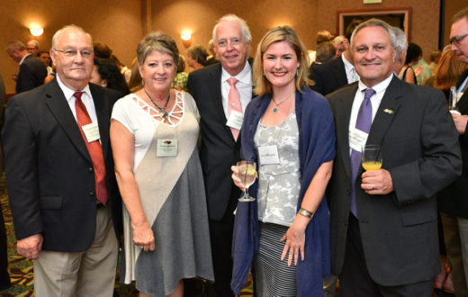 City of Rockingham and American Rivers staff at the NCWF 53rd Annual Governor's Conservation Achievement Awards 2016   North Carolina Wildlife Federation