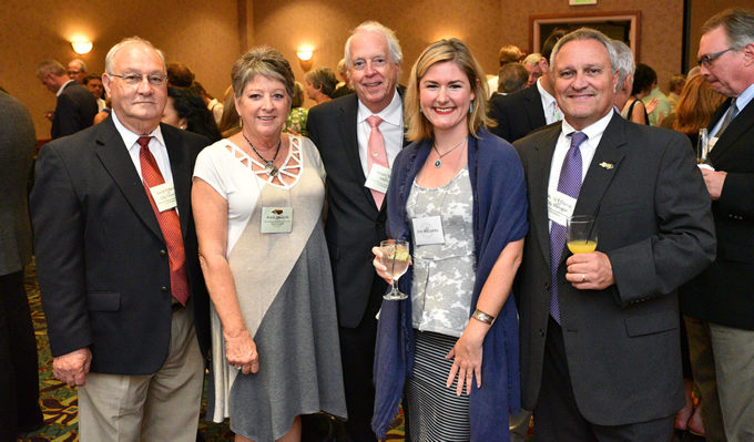 City of Rockingham and American Rivers staff at the NCWF 53rd Annual Governor's Conservation Achievement Awards 2016 | North Carolina Wildlife Federation