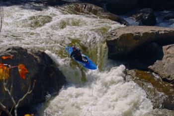 White water kayaking on the Russell Fork | Leland Davis