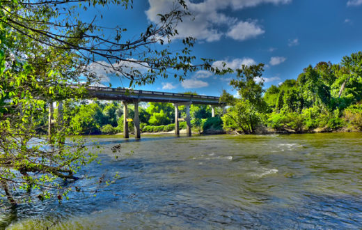 Bridge Over the Yadkin River | Susan Smith