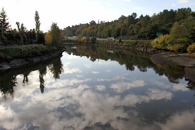 The Green River in King County, WA | King County, WA