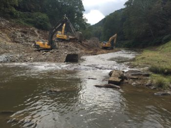 The Cane River after the dam was removed. | Jonathan Hartsell