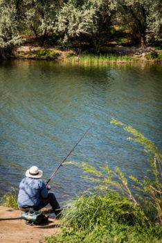 Fishing on the Lower Snake River, ID. | Alison M. Jones